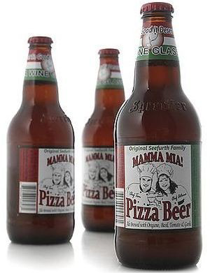 Пицца-пиво - Mamma Mia Pizza Beer